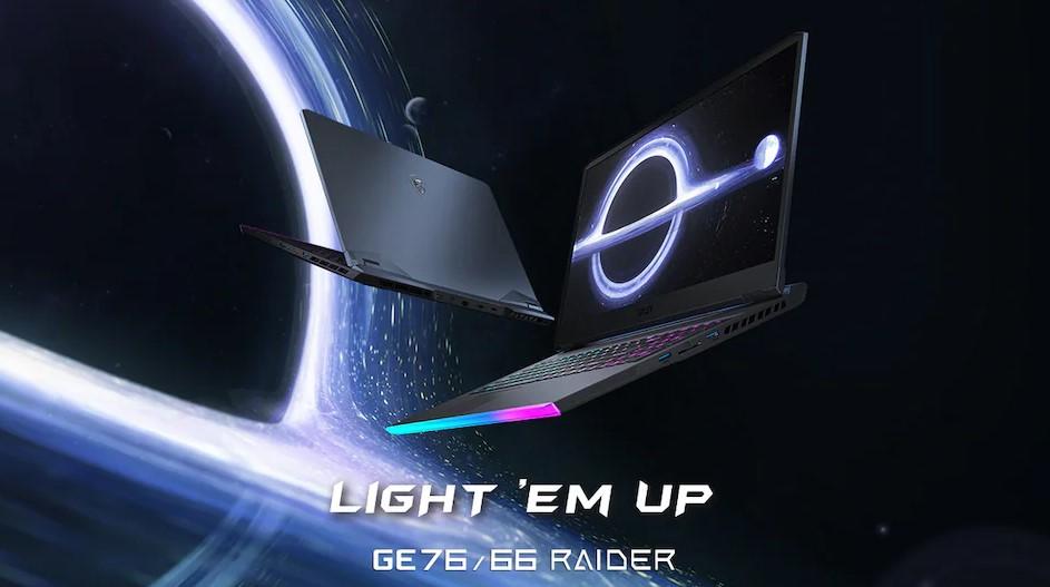MSI GE76 Raider, GE66 Raider, GS66 Stealth Gaming Laptops запущені з процесорами Intel Core H-Series в Індії