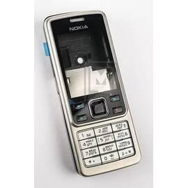 S5-000069 Корпус Nokia 6300 полный комплект, Серебро