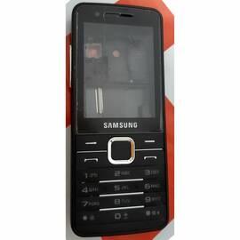 S5-000091 Корпус Samsung S5610 полный комплект, латиница, Черный